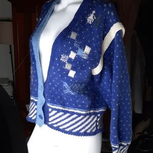 Vintage hand made wool sweater